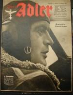 MilDoc. 89.  Der Adler N°6. Le 24 Mars 1942 - 1939-45