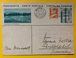9604 - Entier Postal Illustration  Montana-Vermala Bern 28.02.1932 - Enteros Postales