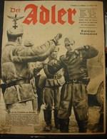 MilDoc. 90.  Der Adler N°14. Le 14 Juillet 1942 - 1939-45