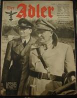 MilDoc. 91.  Der Adler N°5. Le 10 Mars 1942 - 1939-45