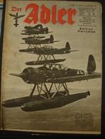 MilDoc. 92.  Der Adler N°26. Le 28 Décembre 1943. Vol En Escadrille - 1939-45