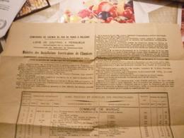 Jugement D'expropriation En 1922 Des Terrrains Pour Le Maintien Des Installations Américaines De 14/18 à Chamiers - 1914-18