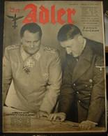 MilDoc. 93.  Der Adler N°8. Le 21 Avril 1942. - 1939-45