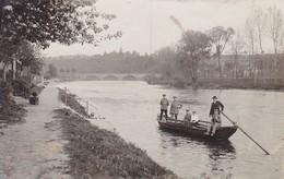 AK Foto Deutsche Soldaten Auf Flussfähre - Ludwigsburg 1917 (45459) - Weltkrieg 1914-18