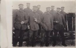 AK Foto Gruppe Deutsche Soldaten - 1. WK (45460) - Weltkrieg 1914-18