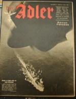 MilDoc. 95.  Der Adler N°9. Le 5 Mai 1942. - 1939-45