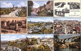 Luxembourg Ville - Lot 53 Cartes (voir Tout Est Scanné) Petit Prix Au Plus Rapide ! - Luxemburg - Stad