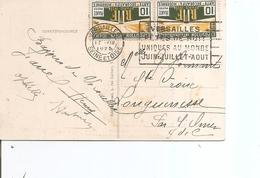 France ( CP De 1925 De Versailles Vers L'intérieur à Voir) - France