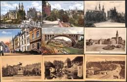 Luxembourg Ville - Lot 56 Cartes (voir Tout Est Scanné) Petit Prix Au Plus Rapide ! - Luxembourg - Ville