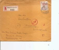 Suisse ( Lettre Recommandée En Censure De 1944 De Zurich Vers L'Allemagne à Voir) - Suisse