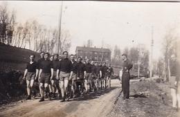 PHOTO ORIGINALE 39 / 45 WW2 WEHRMACHT ALLEMAGNE BAD DURCKEIM LES SOLDATS ALLEMANDS A L ECOLE DE LA MARINE - Guerra, Militari