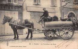 CPA 201 - Toulon - Le Torpilleur Des Rues - Toulon