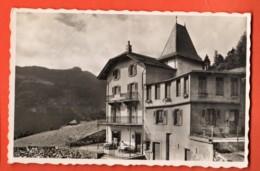 KAK-03 Pension Mon Séjour Les Granges Sur Salvan. O. Coquoz, Circulé, Timbre Manque Perrochet - VS Valais