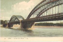 POSTAL    LYON  -FRANCIA  - LE PONT DE LA BOUCLE - Lyon