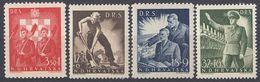 CROAZIA - 1944 - Serie Completa MNH Formata Da 4 Valori Nuovi: Yvert 127/130. - Kroatien