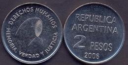 Argentina 2 Pesos 2006 AUNC < Derechos Humanos - Argentine
