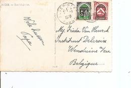 Algérie ( CP De 1948 De Alger Vers La Belgique à Voir) - Algérie (1924-1962)