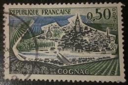 France - YT 1314 - Cognac - Sans  Les Péniches - Errors & Oddities