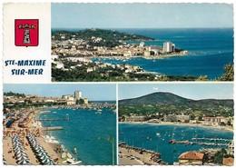 83 Sainte Maxime Divers Aspects (2 Scans) - Sainte-Maxime