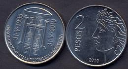 Argentina 2 Pesos 2010 UNC < Banco Central - Argentine