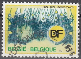 Belgique 1975 COB 1757 O Cote (2016) 0.25 Euro 100 Ans Davidsfonds Cachet Rond - Belgique