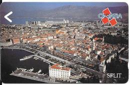 CARTE-MAGNETIQUE-CROATIE-SPLIT-TBE - Croatia