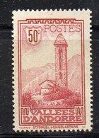 XP4579 - ANDORRA 1932,  Unificato N. 35 ***  MNH  (2380A) . - Andorre Français