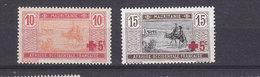 MAURITANIE 34/35 CROIX ROUGE  LUXE NEUF SANS CHARNIERE - Mauritanie (1906-1944)