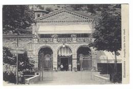 1694 - MONSUMMANO PISTOIA PROSPETTO DELLA GROTTA GIUSTI ANIMATA 1920 CIRCA - Pistoia
