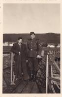 PHOTO ORIGINALE 39 / 45 WW2 WEHRMACHT FRANCE CHERBOURG SOLDAT ALLEMAND - Guerre, Militaire