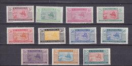 MAURITANIE 39/49  LUXE NEUF SANS CHARNIERE - Mauritanie (1906-1944)
