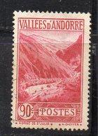 XP4603 - ANDORRA 1932,  Unificato N. 38 Usato  (2380A) . - Neufs