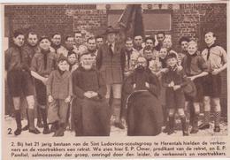 Herentals - Retrait Scoutsgroep Sint-Ludovicus - Movimiento Scout