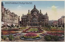 Antwerpen, Middenstatie En Koningin Astrid Plein (pk65447) - Antwerpen