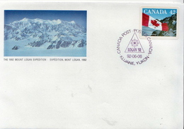 Canada Stamp On FDC - Briefe