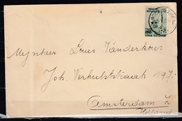 Brief Van Roeselare F Naar Amsterdam (Nederland) - Bélgica