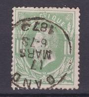 N° 30 GAND  Petit Cercle Heure Double - 1869-1883 Leopold II