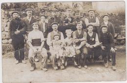 Belgische Militairen Die Helpen Bij Franse Boeren (FOTOKAART) Gelopen - Guerre 1914-18