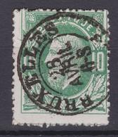 N° 30 BRUXELLES  Petit Double Cercle - 1869-1883 Leopold II