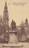 Antwerpen, Groenplaats, Hoofdkerk En Standbeeld P.P.Rubens (pk65453) - Antwerpen