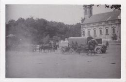PHOTO ORIGINALE 39 / 45 WW2 WEHRMACHT YOUGOSLAVIE BELGRADE 1941 CONVOI ALLEMAND EN ROUTE VERS LA RUSSIE - Guerra, Militares