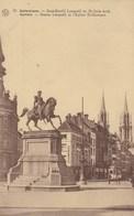 Antwerpen, Standbeeld Leopold En St Joris Kerk (pk65454) - Antwerpen