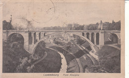 Luxembourg - Pont Adolphe - Luxemburg - Stad