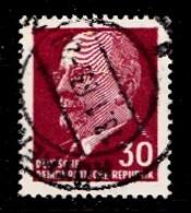 DDR 1963 Mi.nr. 935 Walter Ulbricht  OBLITÉRÉS-USED-GEBRUIKT - [6] République Démocratique