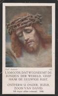 Frater Jan Arnold Jacobus Opdenakker-lanaeken 1908-tilburg 1930 - Images Religieuses