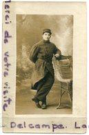 - Carte Photo - Soldat Du 14 éme Régiment, Pour Mademoiselle Alice Galliot, BE, Photo Saint  Chinon, St Nazaire, Scans. - Personaggi