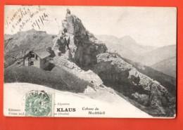 KAK-24 Cabane Au Hochthürli, Berghütte Im Hochhürtli, Neben Niesen Und Kienthal. Légère Cassure, Cachet Frontal 1904 - BE Bern