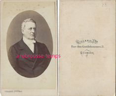 CDV Notable-photo Villard à Quimper - Old (before 1900)
