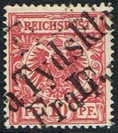1900. Fra Tydskland L. 10 PF. REICHSPOST. (Michel 47) - JF165513 - Alemania