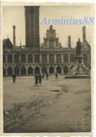 Campagne De France 1940 - Belgique - Louvain - Leuven - Bibliothèque De L'Université - Wehrmacht - Westfeldzug - Guerre, Militaire